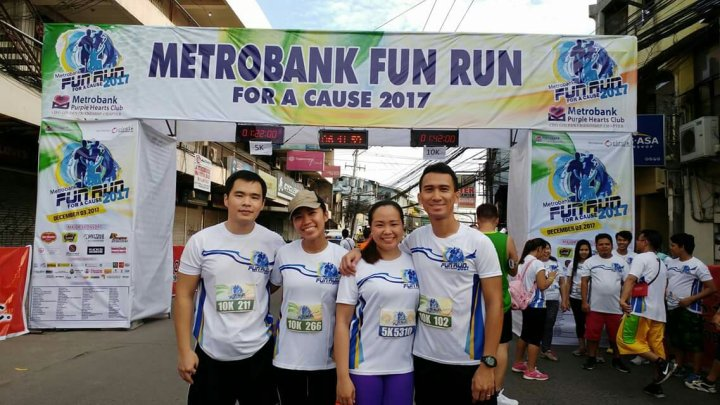 Metrobank Purple Hearts Fun Run For A Cause 2017
